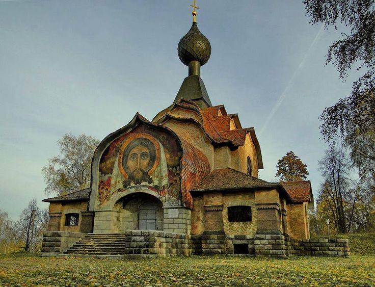 Church of the descent of the Holy Spirit in Talashkino near Smolensk