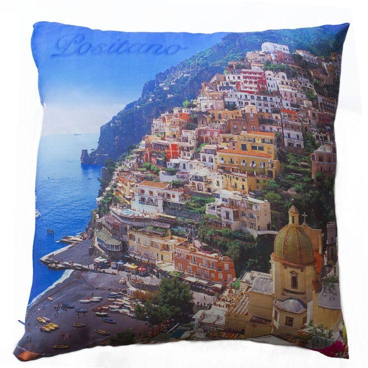 Cuscino arredo con stampa digitale Positano 40x40 cm http://www.carillobiancheria.it/cuscino-arredo-con-stampa-digitale-positano-40x40-cm-l287.html