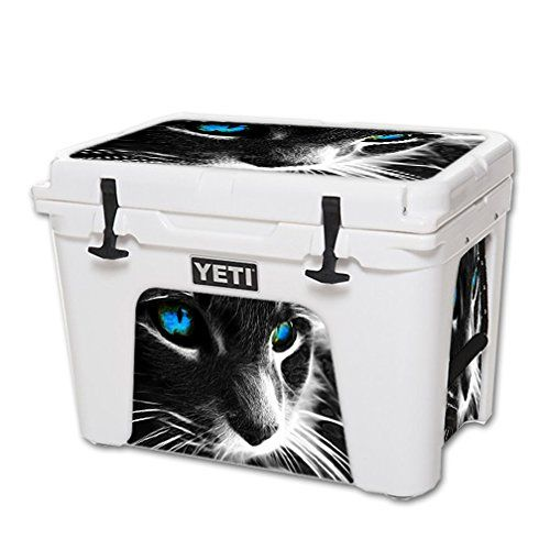 MightySkins Protective Vinyl Skin Decal for YETI Tundra 50 qt Cooler wrap cover sticker skins Cat *** Learn more by visiting the image link.(This is an Amazon affiliate link and I receive a commission for the sales)