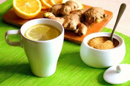 Имбирный чай для кормящей мамы