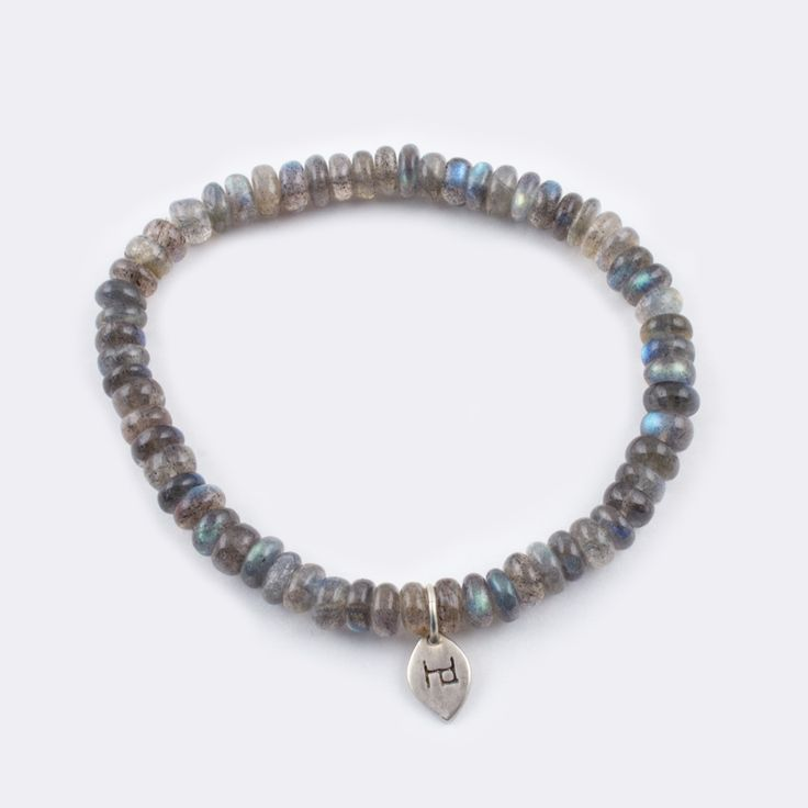 Labradorite Bracelet. Labradorite is a powerful stone that protects the wearer's aura, keeping it clean and balanced while deflecting negativity away.