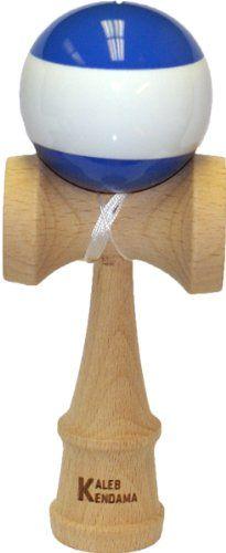 Kaleb Kendama Blue With White Stripe And Extra String $17.95 #bestseller