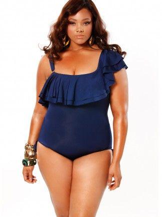 Plus size trendy swimsuits, swimwear from Monif C. - Monif C