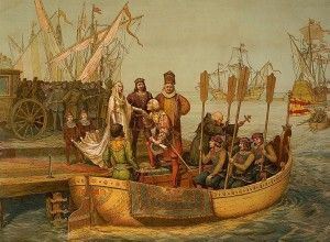 Free Christopher Columbus Audio for kids - You Are There #homeschool