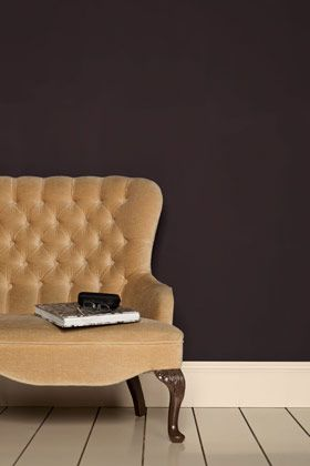 Tanner's Brown. Earth browns are the most timeless of decorative tones. Almost-black, equally suited to a loft apartment or historic house.