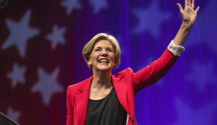 Elizabeth Warren isn't endorsing. But she is suggesting, subtly, how Bernie Sanders would be a nightmare for corporate criminals.