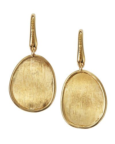 O5550 Marco Bicego Lunaria 18k Gold Drop Earrings