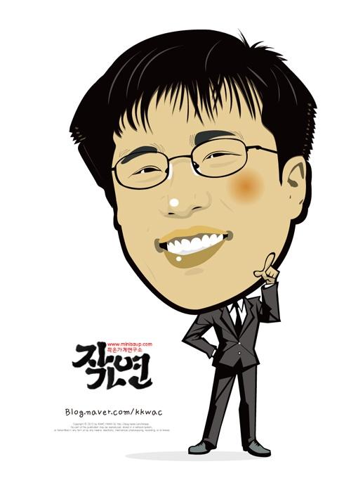 고전을 알지 못하면 고전합니다.    꽉샘의 캐리커쳐 인물열전(014) 작은가게연구소 심상훈 소장 Mr. Shim Sang Hun