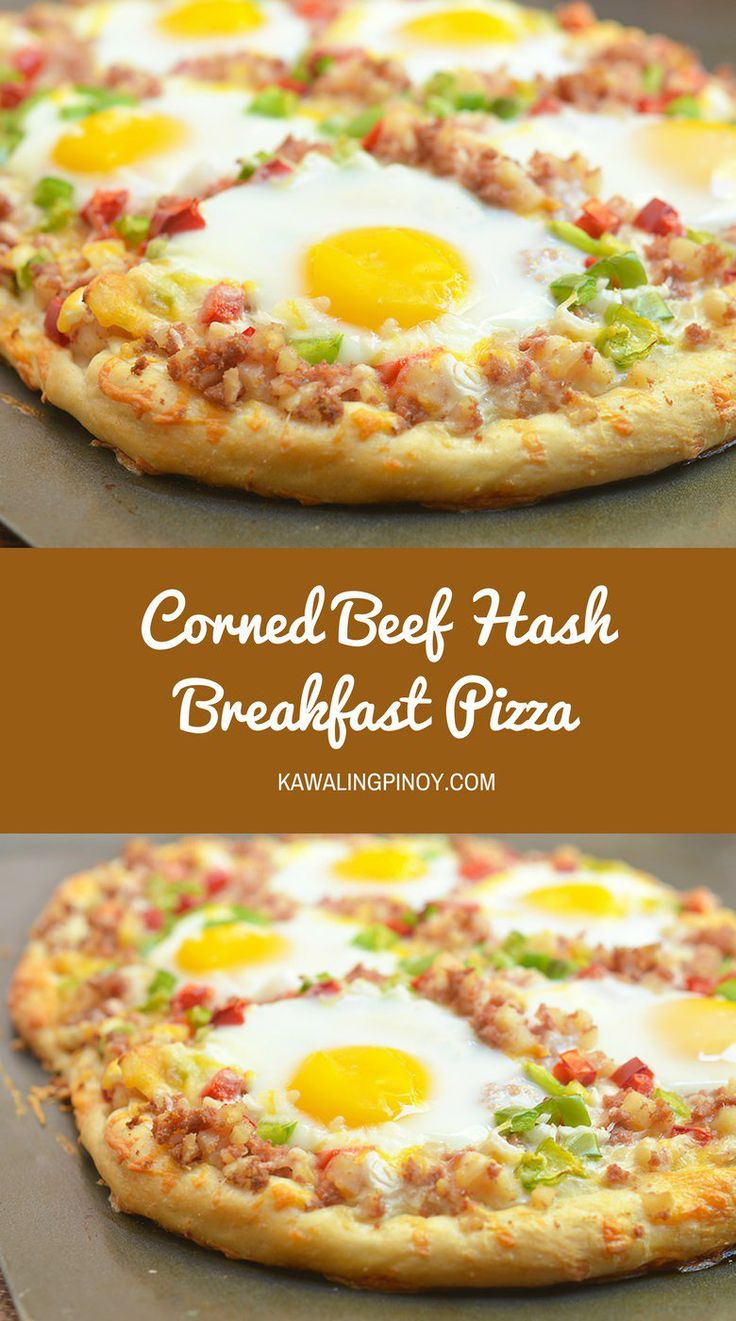This Corned Beef Hash Breakfast Pizza has got to be the most delicious ...
