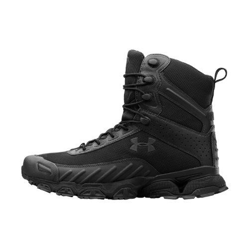 Mens UA Valsetz Side Zip Tactical Boots Boot by Under Armour Under Armour…