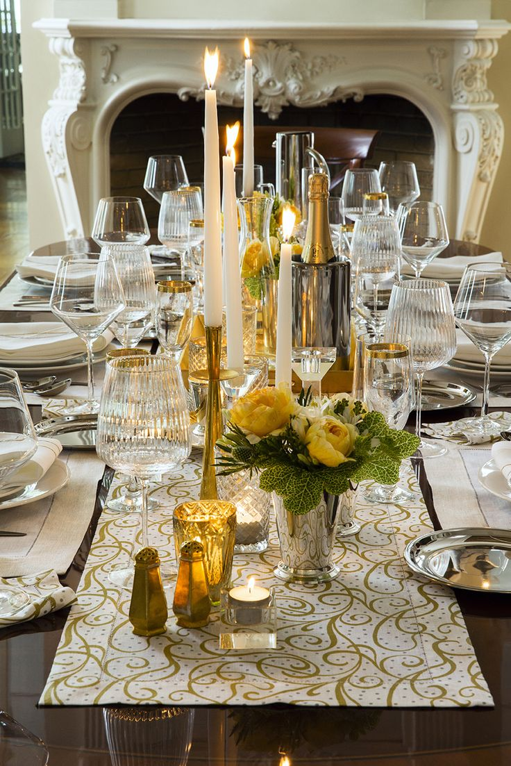 Dress your table in luxury this holiday season!