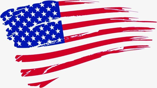 American flag small. Clipart fresh banner png