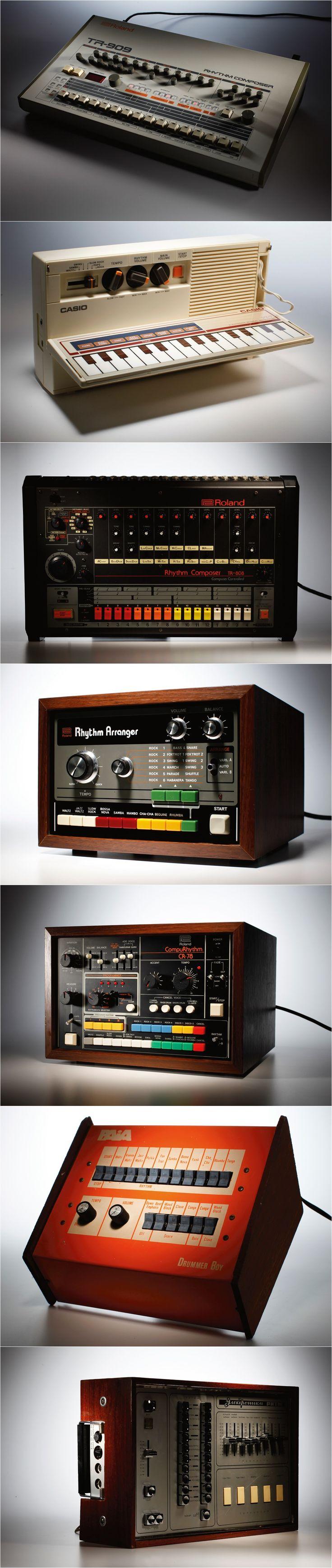 Drum Machines  #analog #porn