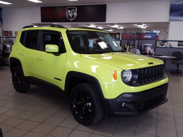 My Future Ride 2017 Jeep Renegade In Hyper Green Jeep Renegade