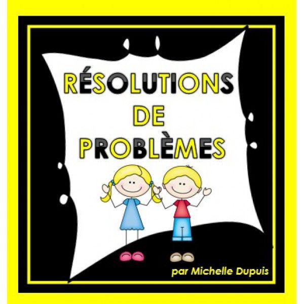 Activité: Résolutions de problèmes