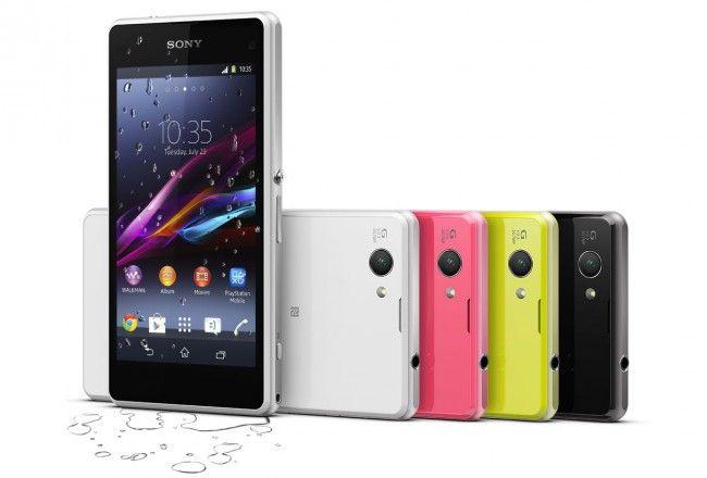 Sony Xperia Z1 Compact è lo smartphone impermeabile