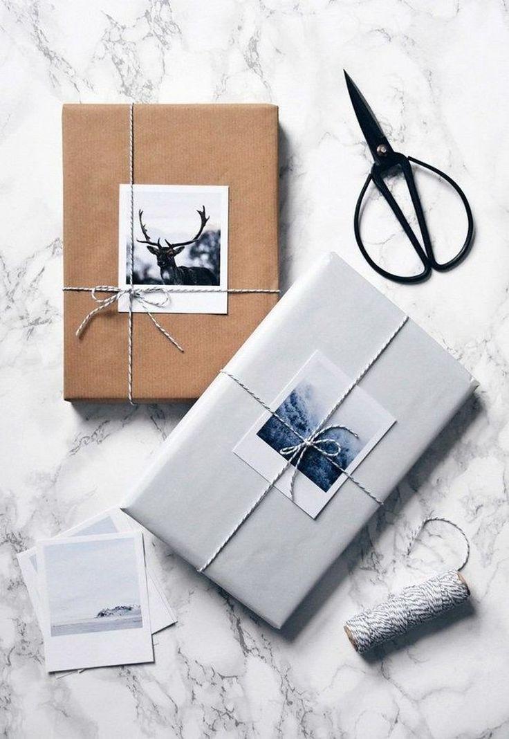 comment fabriquer soi-même emballage cadeau original pour Noël 2017 50+ façons matériaux naturels #Noël #christmasgifts