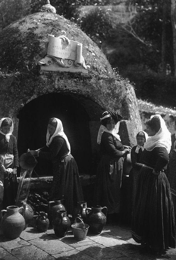 Κέρκυρα, Γαστούρι-Πηγή της αυτοκράτειρας Ελισάβετ  (1903)