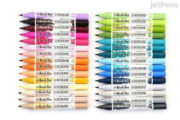 Ecoline Brush Pen Set of 30