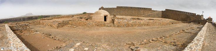 View from the fort Real de São Filipe in Cidade Velha, Santiago, Cape Verde
