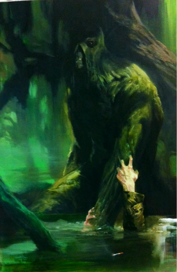 Swamp Thing by Gabriele Dell'Otto