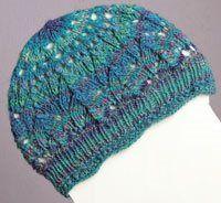 Knit a beautiful Horseshoe Lace Cap - Knitting Daily - Blogs - Knitting Daily