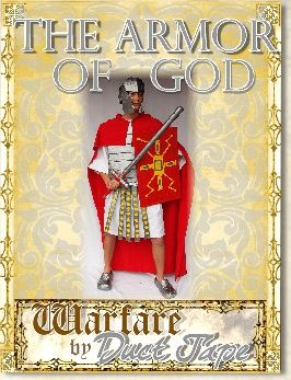 Warfare By Duct Tape How to make swords and other armor from duct tape. Good for Middle Ages studies or Armor of God.