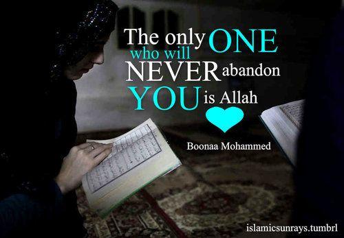 Never abandon you