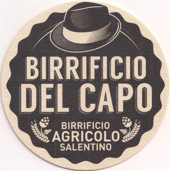 Vorderseite: Bierdeckel-Europa-Südeuropa-Italien-Tricase-Birrificio del Capo