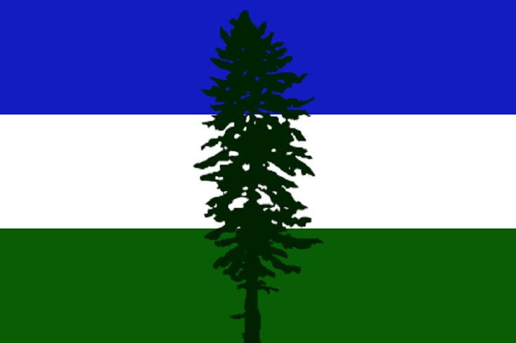 Flag of Cascadia (British Columbia)