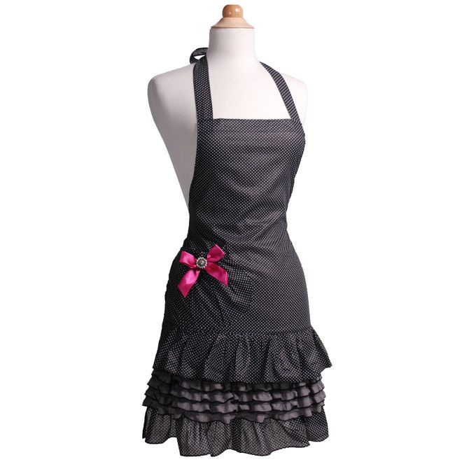 This women's #apron is sure to add some sugar n spice to the kitchen and make you feel both stylish and sexy!