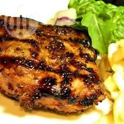 Côtelettes de porc Dijon @ qc.allrecipes.ca