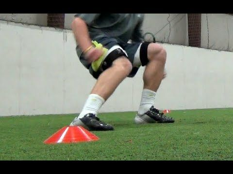 Speed Training 4 Cone Drill Agility Drill Youtube