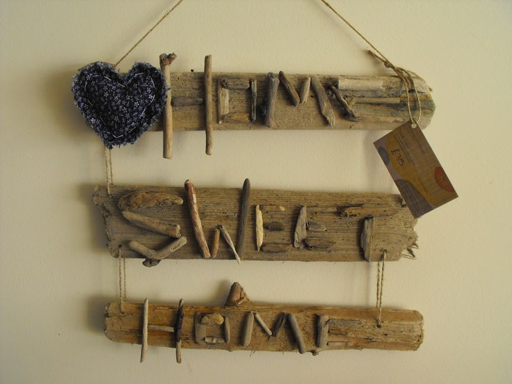 64 best images about driftwood ideas on pinterest crafts for Craft ideas for driftwood