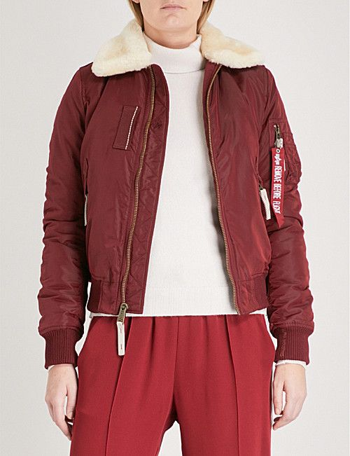 ALPHA INDUSTRIES Injector III padded shell bomber jacket   Style  Inspirations in 2018   Pinterest c1ccd04afbeb