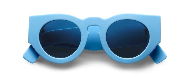 Sigmund Sunglasses in Light Blue/Navy by Acne Studios