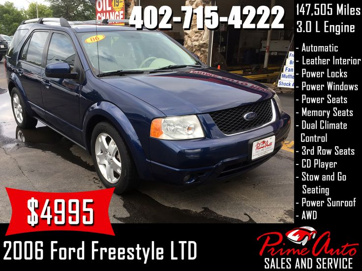 2006 Ford Freestyle LTD Call us today! 4027154222