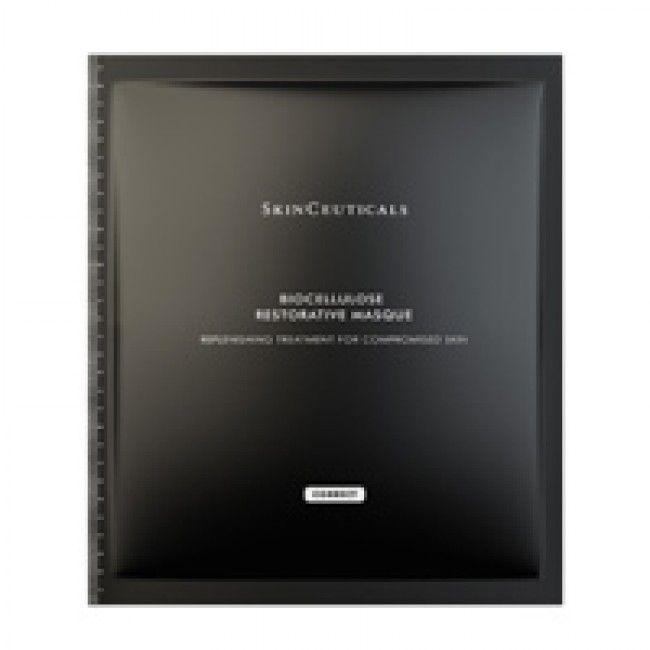 SkinCeuticals Biocellulose Restorative Masque is a restorative masque to help soothe skin. Buy it online at Welch Skin Care Center.
