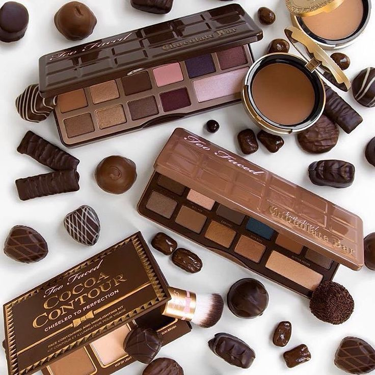 from Sephora: Life is like a Too Faced Chocolate Bar Palette, sweet and beautiful! #toofaced