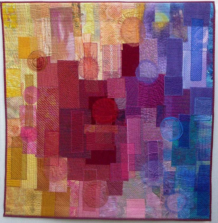 Blijdschap | Ineke van Unen – art quilts – textile art