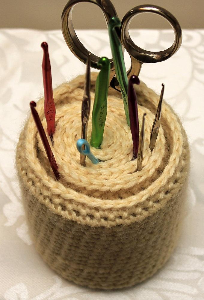 ... pincushion on Pinterest   Pin cushions, Crochet cupcake and Ravelry