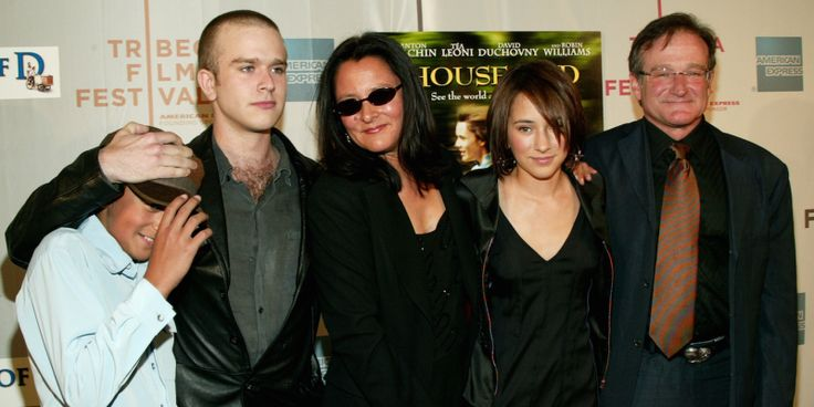 robin williams and kids | Robin Williams' Ex-Wife And Kids' Statements - Business Insider