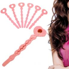 6 PCS Sponge Strip Hair Styling Soft Curler Roller Strip Tool