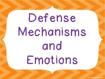 defense mechanisms in mental health Defense mechanisms are psychological mechanisms aimed at reducing  the  diagnostic and statistical manual of mental disorders (dsm-iv).