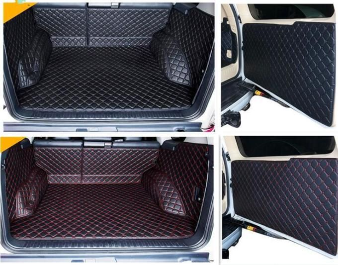 Full Set Car Trunk Cargo Liner Mats Rear Door Mat For Toyota