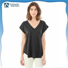 Custom loose cotton sleeveless v-neck t shirt for woman Best Buy follow this link http://shopingayo.space