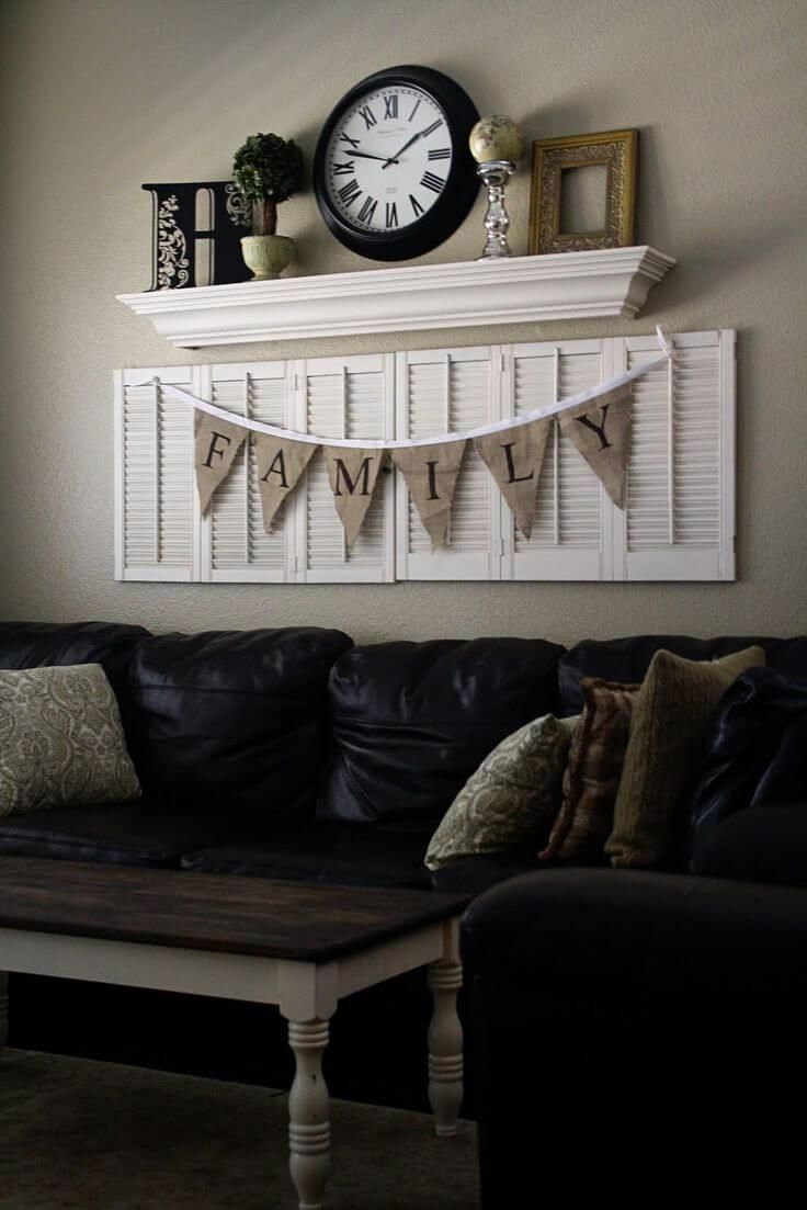 31 Timeless Rustic Living Room Decorating Ideas That Will Add Warmth And Cozy Charm To Your Walls Wall Decor Living Room Living Room Decor Rustic Wall Decor Living Room Rustic