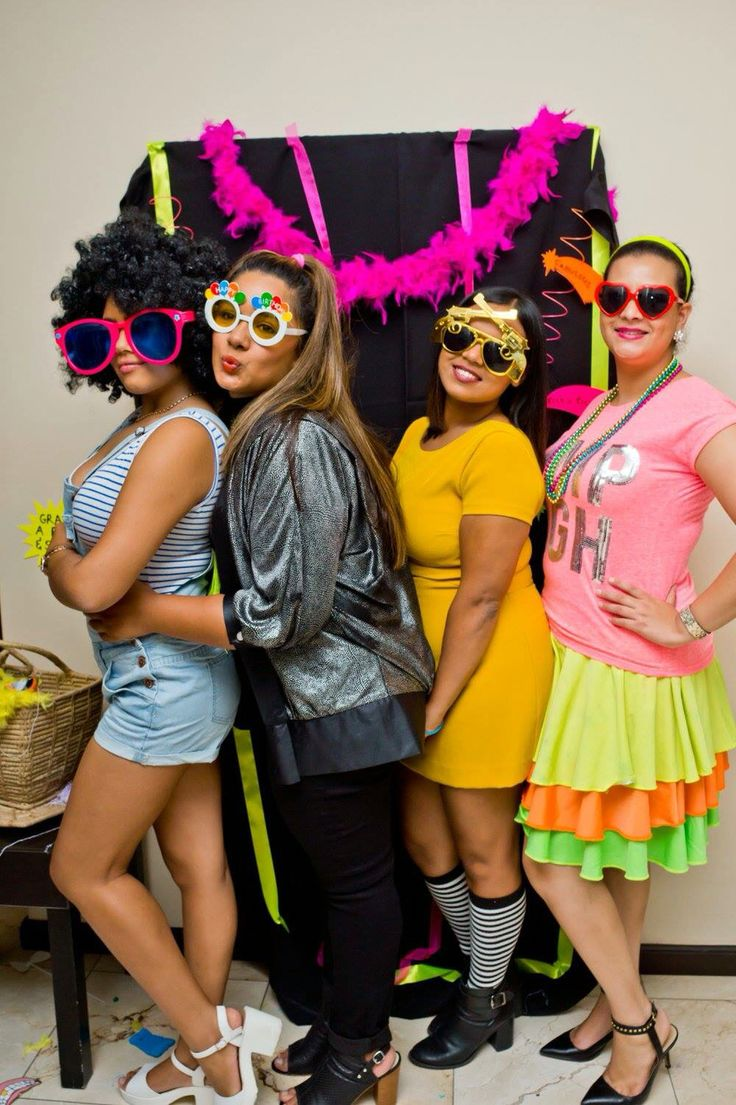 Dress up for an 80's party