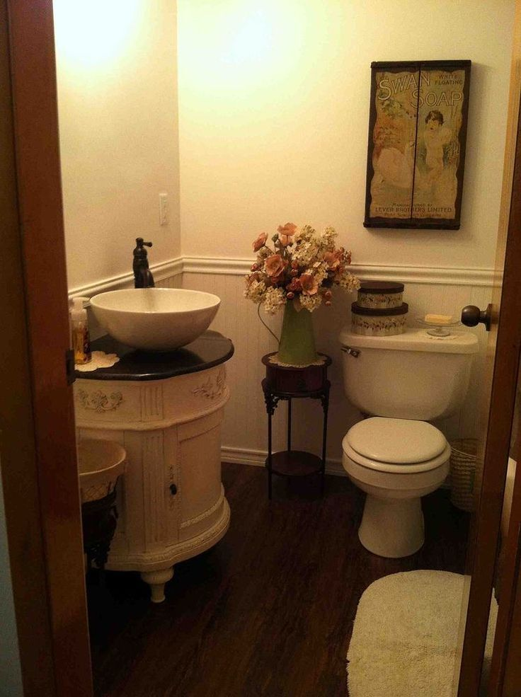 Inspiration Web Design The best Small vintage bathroom ideas on Pinterest Half bathroom decor Diy bathroom decor and Towel holder bathroom