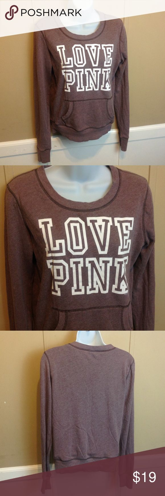 "Victoria's Secret PINK Pullover Sweatshirt Maker: Victoria's Secret ♥ Material: 60/40 Cotton and Polyester ♥ Color: Mauve ♥ Measured Size: Pit to pit- 19"" Pit to cuff- 21"" Shoulder to waist- 23""  ♥ Tag Size:  XS ♥ Actual Size: XS PLEASE CHECK YOUR ACTUAL MEASUREMENTS TO MAKE SURE IT IS THE RIGHT SIZE! THANKS! ♥ Condition: Great ♥ Item #: (office use only) E   Follow us on Instagram and facebook for coupon codes!  INSTAGRAM-thehausofvintage1984 PINK Victoria's Secret Tops Sweatshirts…"
